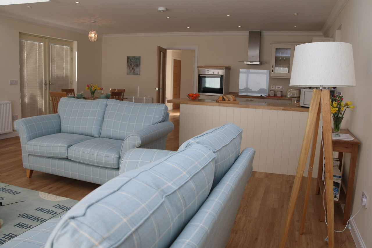 Holiday Cottage Open Plan Living Area